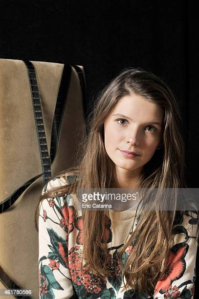 Actress Josephine Japy is photographed for Self Assignment on October 25 2014 in Montpellier France