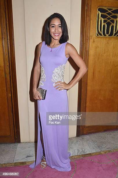 Actress Josephine Jobert dressed by Christophe Guillarme attends '23rd Gala Pour L'Espoir 2015' Auction Show To Benefit Against Cancer Associations...