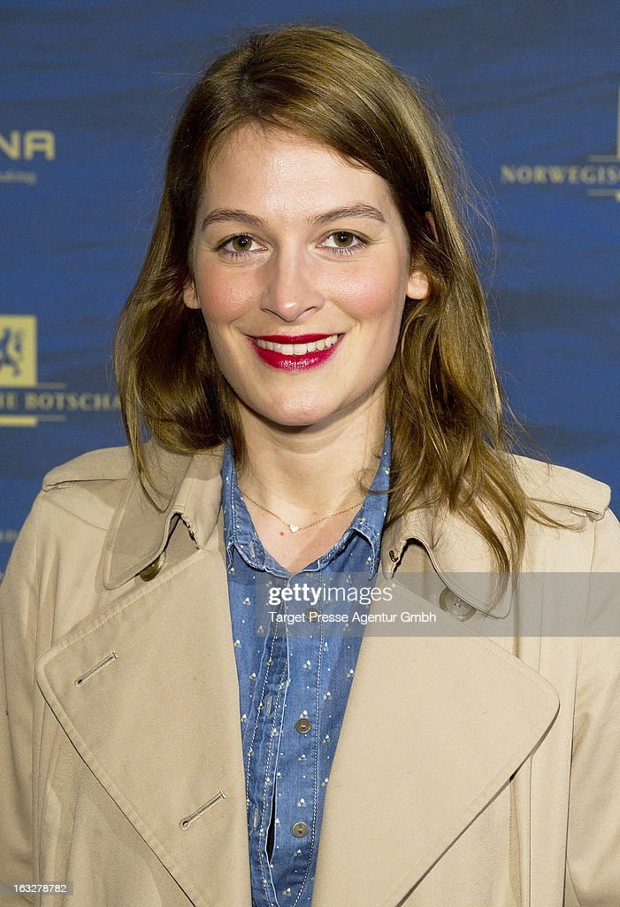 Actress Josephine Thiel attends the 'Kon-Tiki' Premiere at Kino International on March 6, 2013 in Berlin, Germany.