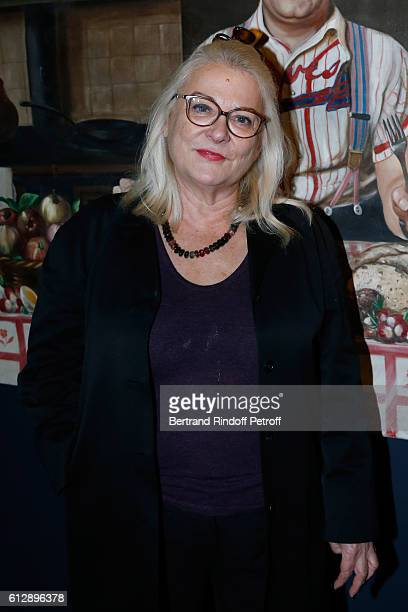 Actress Josiane Balasko attend the Coluche Exhibition Opening This exhibition is organized for the 30 years of the disappearance of Coluche Held at...