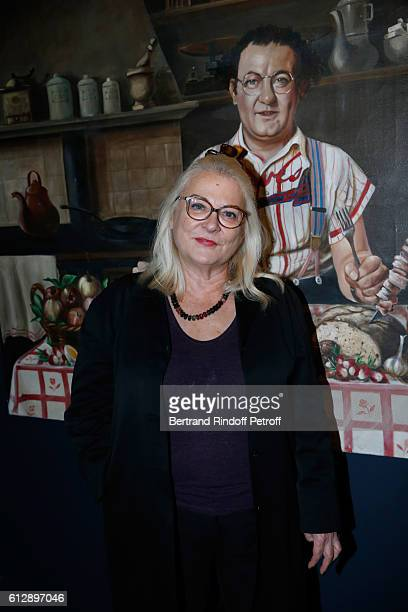 Actress Josiane Balasko attends the Coluche Exhibition Opening This exhibition is organized for the 30 years of the disappearance of Coluche Held at...