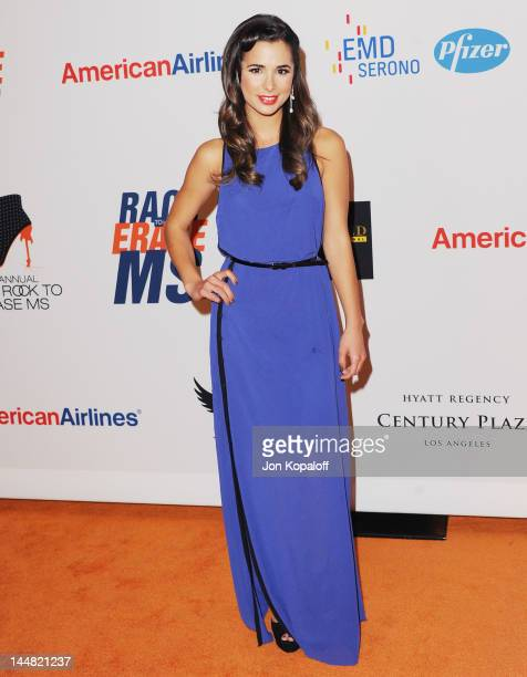 Actress Josie Loren arrives at the 19th Annual Race To Erase MS Event at the Hyatt Regency Century Plaza on May 18 2012 in Century City California