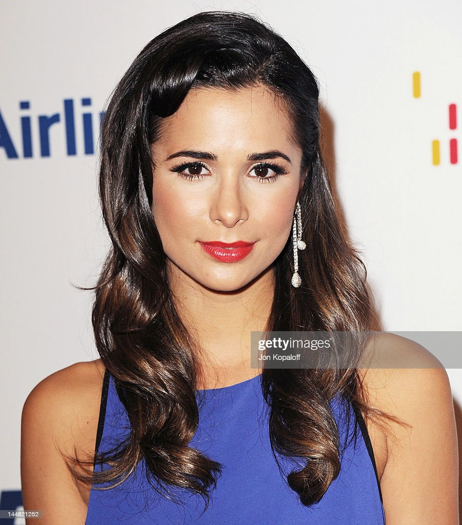 Actress Josie Loren arrives at the 19th Annual Race To Erase MS Event at the Hyatt Regency Century Plaza on May 18, 2012 in Century City, California.