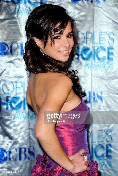 Actress Josie Loren arrives at the 2011 People's Choice Awards at Nokia Theatre LA Live on January 5 2011 in Los Angeles California