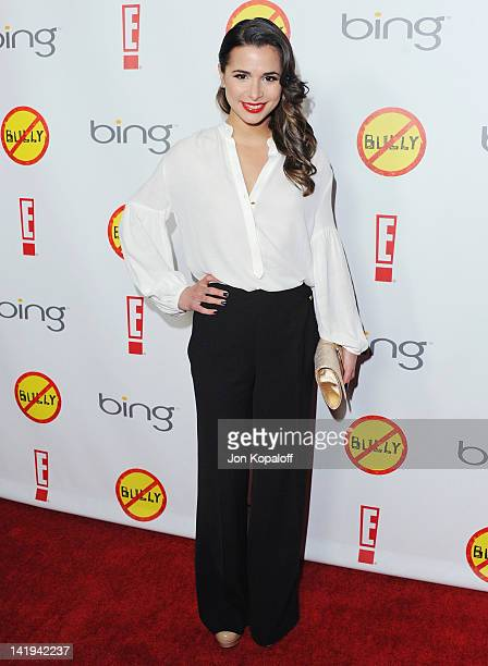 Actress Josie Loren arrives at the Los Angeles Premiere 'Bully' at Mann Chinese 6 on March 26 2012 in Los Angeles California