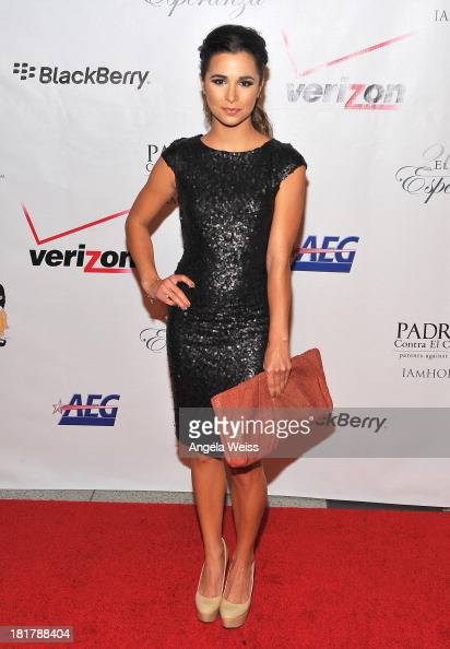 Actress Josie Loren arrives at the Padres Contra El Cancer 13th annual 'El Sueno de Esperanza' gala on September 24 2013 in Los Angeles California