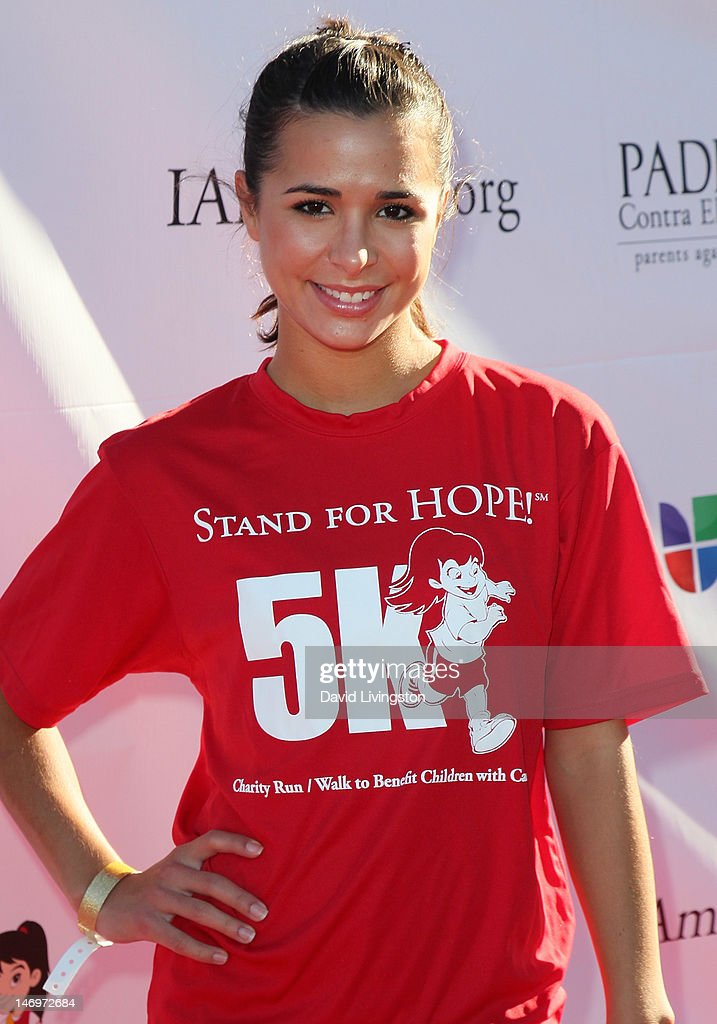 Actress Josie Loren attends Padres Contra El Cancer's 5th Annual Stand for HOPE! 5k Run/Walk at the Rose Bowl on June 24, 2012 in Pasadena, California.