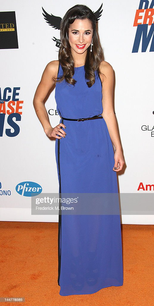Actress Josie Loren attends the 19th Annual Race To Erase MS - 'Glam Rock To Erase MS' event at the Hyatt Regency Century Plaza on May 18, 2012 in Century City, California.