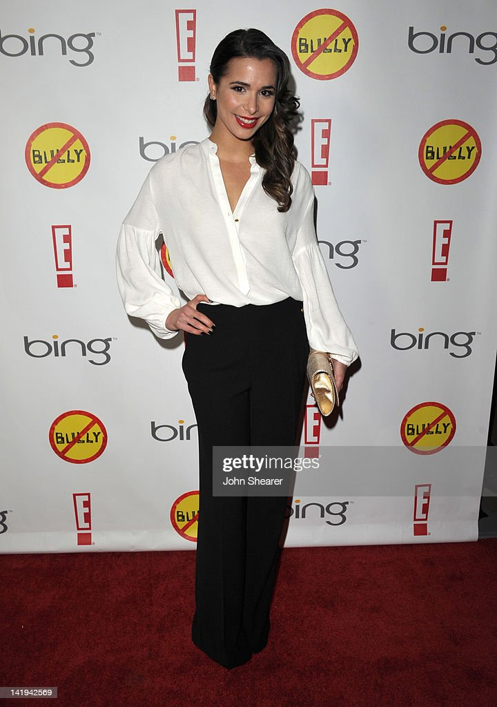 Actress Josie Loren attends the 'Bully' Los Angeles Premiere at Mann Chinese 6 on March 26, 2012 in Los Angeles, California.