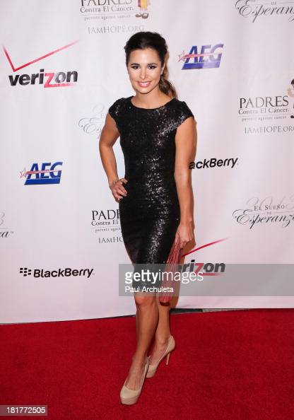 Actress Josie Loren attends the Padres Contra El Cancer 13th annual 'El Sueno De Esperanza' Gala on September 24 2013 in Los Angeles California
