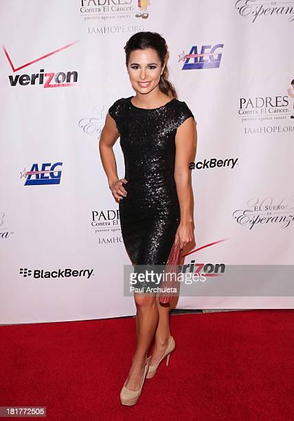 Actress Josie Loren attends the Padres Contra El Cancer 13th annual 'El Sueno De Esperanza' Gala on September 24 2013 in Los Angeles California