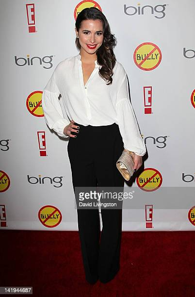 Actress Josie Loren attends the premiere of The Weinstein Company's 'Bully' at the Mann Chinese 6 on March 26 2012 in Los Angeles California
