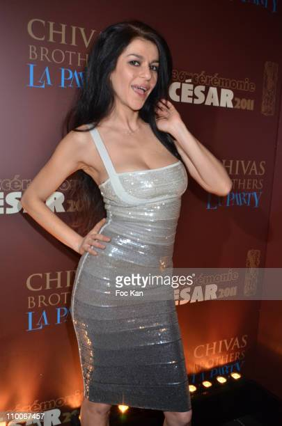 Actress Jovanka Sopalovic attends the Afterparty Arrivals At L'Arc Cesar Film Awards 2011 on February 25 2011 in Paris France