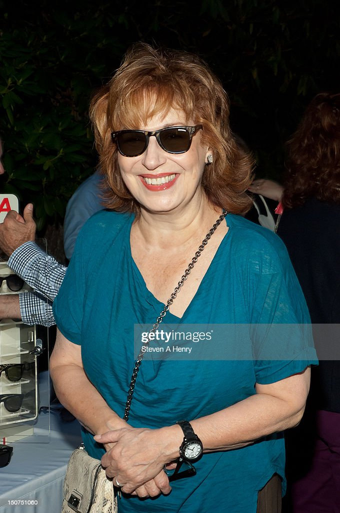 Actress <a gi-track='captionPersonalityLinkClicked' href=/galleries/search?phrase=Joy+Behar&family=editorial&specificpeople=214608 ng-click='$event.stopPropagation()'>Joy Behar</a> attends 'The Words' screening at Goose Creek on August 25, 2012 in East Hampton, New York.