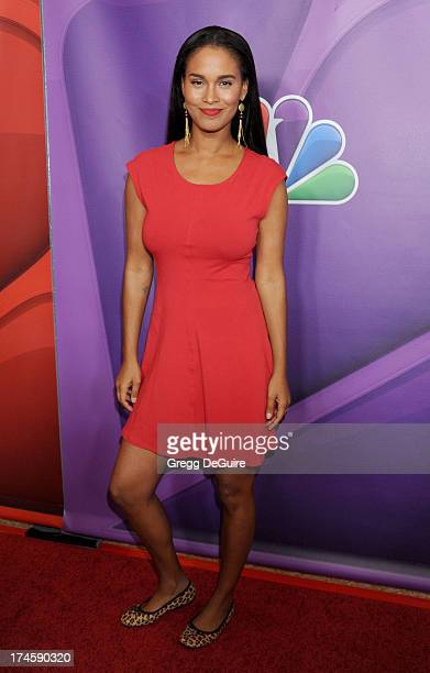 Actress Joy Bryant arrives at the 2013 NBC Television Critics Association's Summer Press Tour at The Beverly Hilton Hotel on July 27 2013 in Beverly...