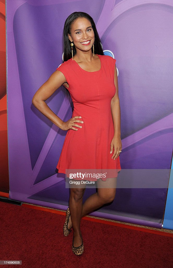 Actress Joy Bryant arrives at the 2013 NBC Television Critics Association's Summer Press Tour at The Beverly Hilton Hotel on July 27, 2013 in Beverly Hills, California.