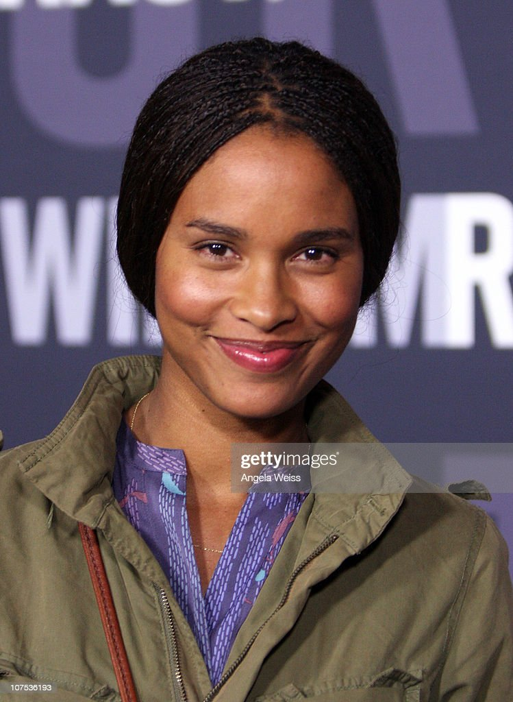 Actress Joy Bryant arrives at the launch of Target's & William Rast's Limited Edition Collection shopping event at Factory Place on December 11, 2010 in Los Angeles, California.