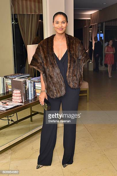Actress Joy Bryant attends ELLE's 6th Annual Women in Television Dinner Presented by Hearts on Fire Diamonds and Olay at Sunset Tower on January 20...