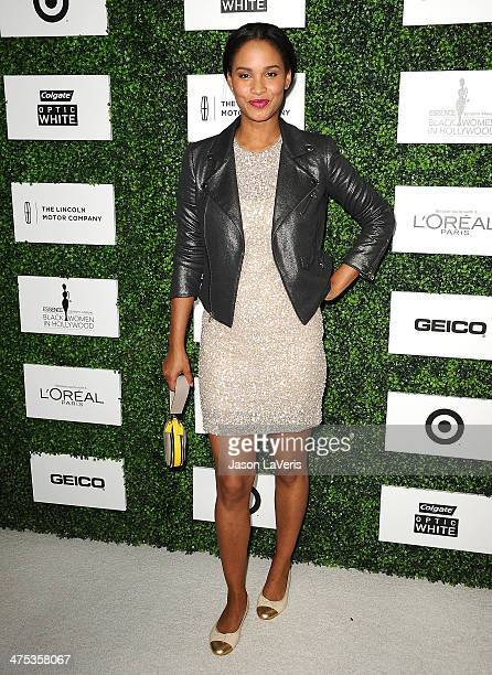 Actress Joy Bryant attends the 7th annual ESSENCE Black Women In Hollywood luncheon at Beverly Hills Hotel on February 27 2014 in Beverly Hills...