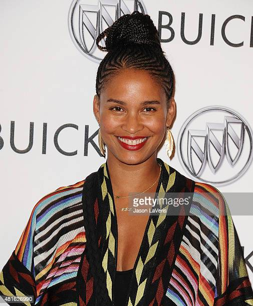 Actress Joy Bryant attends the Buick '24 Hours Of Happiness' test drive launch event at Ace Museum on July 22 2015 in Los Angeles California