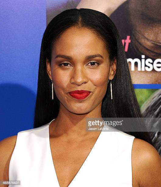 Actress Joy Bryant attends the Pan African Film Arts Festival premiere of 'About Last Night' at ArcLight Cinemas Cinerama Dome on February 11 2014 in...