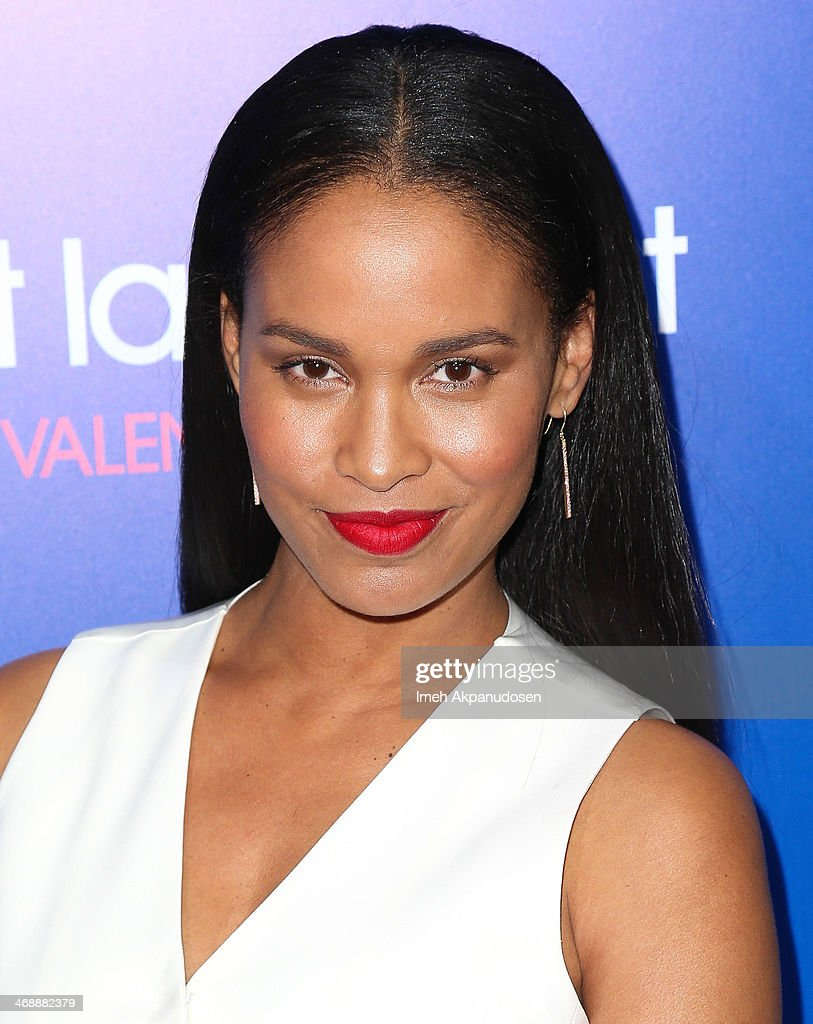 Actress Joy Bryant attends the Pan African Film & Arts Festival premiere of Screen Gems' 'About Last Night' at ArcLight Cinemas Cinerama Dome on February 11, 2014 in Hollywood, California.