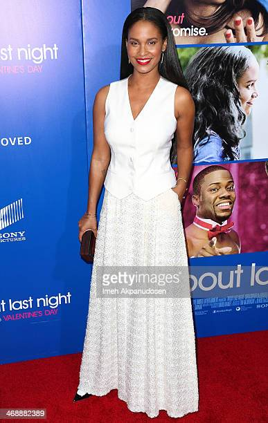 Actress Joy Bryant attends the Pan African Film Arts Festival premiere of Screen Gems' 'About Last Night' at ArcLight Cinemas Cinerama Dome on...