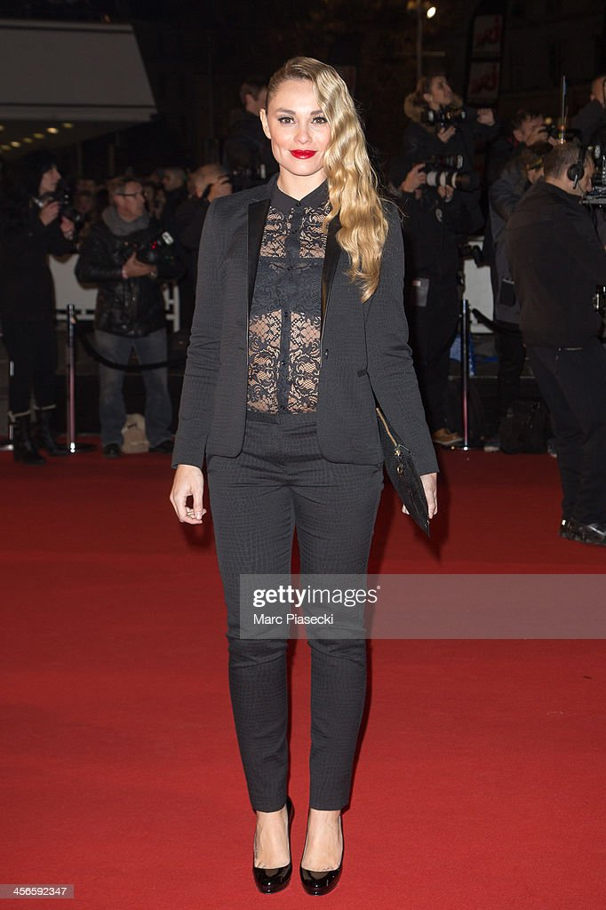 Actress Joy Esther attends the 15th NRJ Music Awards at Palais des Festivals on December 14, 2013 in Cannes, France.