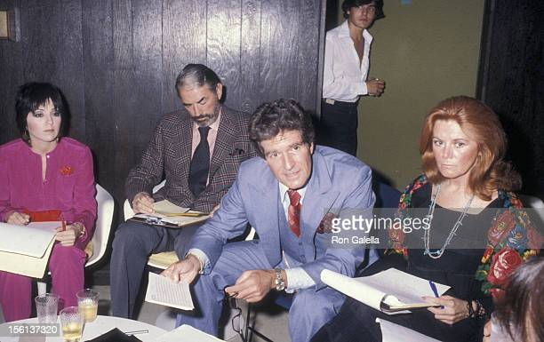 Actress Joyce DeWitt actors Gregory Peck and Hugh O'Brian and actress Kathleen Nolan attend 16th Annual Hugh O'Brian Acting Awards on October 3 1979...