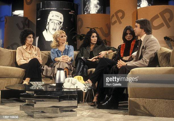 Actress Joyce DeWitt actress Suzanne Somers singer Cher actress Kate Jackson and actor John Ritter participate in the United Cerebral Palsy's...