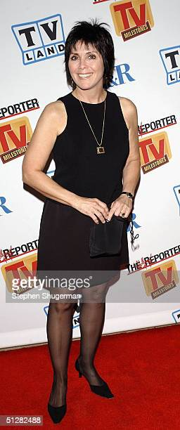 Actress Joyce DeWitt attends the Museum of Television and Radio Cocktail Party on September 9 2004 at The Museum of Television and Radio in Beverly...