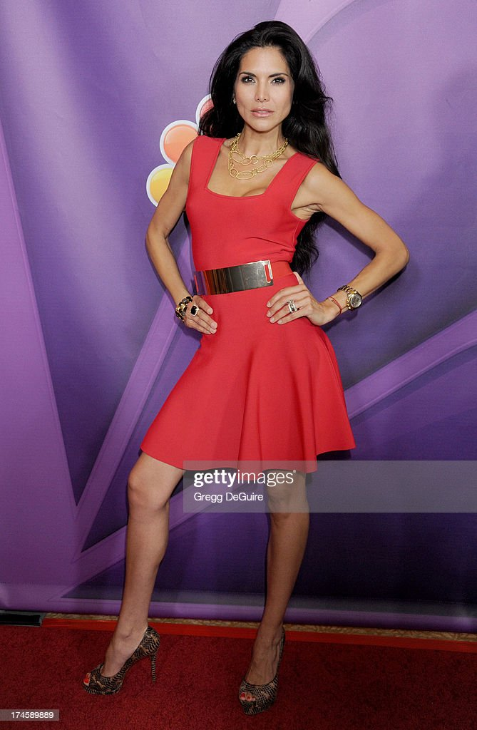 Actress Joyce Giraud arrives at the 2013 NBC Television Critics Association's Summer Press Tour at The Beverly Hilton Hotel on July 27, 2013 in Beverly Hills, California.