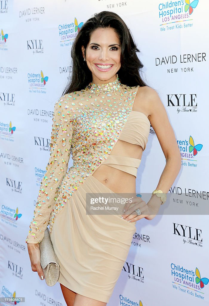 Actress Joyce Giraud attends Kyle Richards hosts a Fashion Fundraiser for Children's Hospital Los Angeles at Kyle By Alene Too on June 26, 2013 in Beverly Hills, California.
