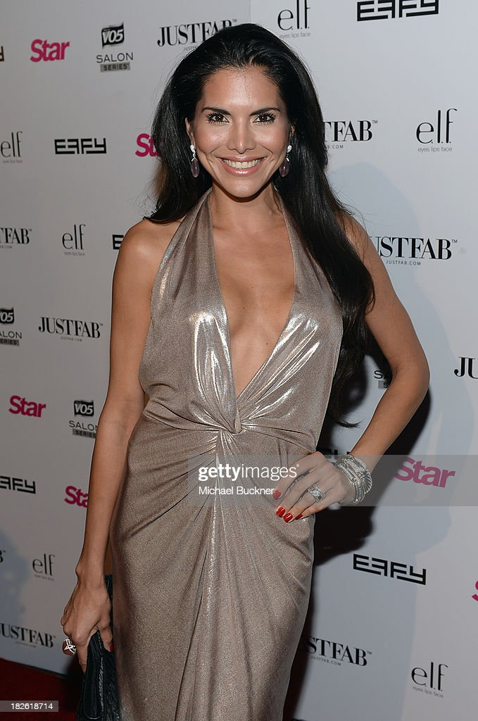 Actress Joyce Giraud attends Star Scene Stealers Event at Tropicana Bar at The Hollywood Rooselvelt Hotel on October 1, 2013 in Hollywood, California.