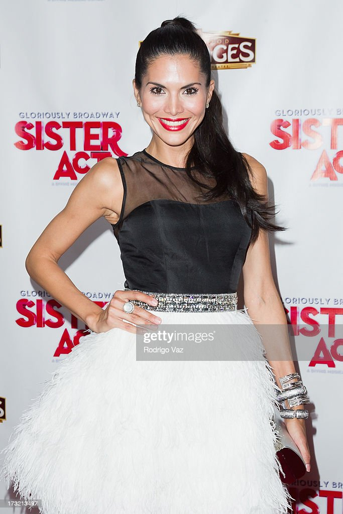 Actress <a gi-track='captionPersonalityLinkClicked' href=/galleries/search?phrase=Joyce+Giraud&family=editorial&specificpeople=841715 ng-click='$event.stopPropagation()'>Joyce Giraud</a> attends the Los Angeles Show Premiere of 'Sister Act' at the Pantages Theatre on July 9, 2013 in Hollywood, California.