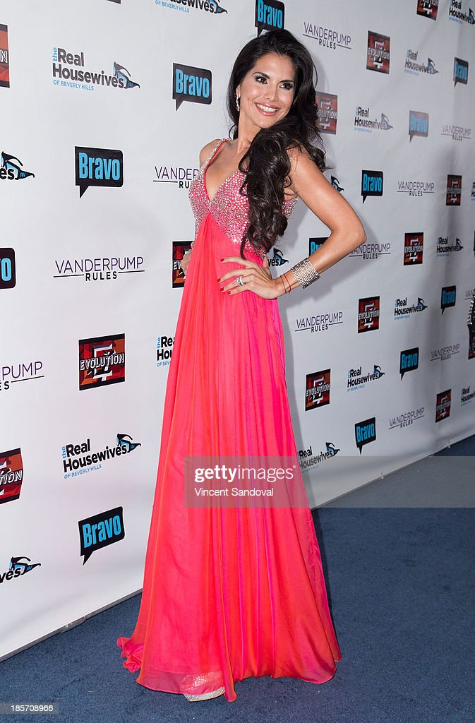 Actress Joyce Giraud attends 'The Real Housewives Of Beverly Hills' and 'Vanderpump Rules' premiere party at Boulevard3 on October 23, 2013 in Hollywood, California.