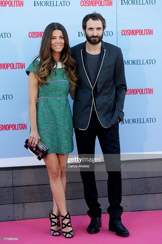 Actress Juana Acosta and Spanish actor Julian Villagran attend the 'Cosmopolitan Fragance Awards' 2013 at the Circulo de Bellas Artes on June 26, 2013 in Madrid, Spain.