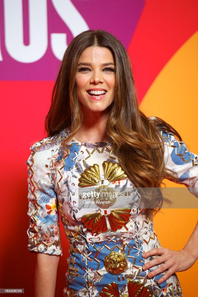 Actress Juana Acosta attends 'Los Amantes Pasajeros' premiere party at Casino de Madrid on March 7, 2013 in Madrid, Spain.
