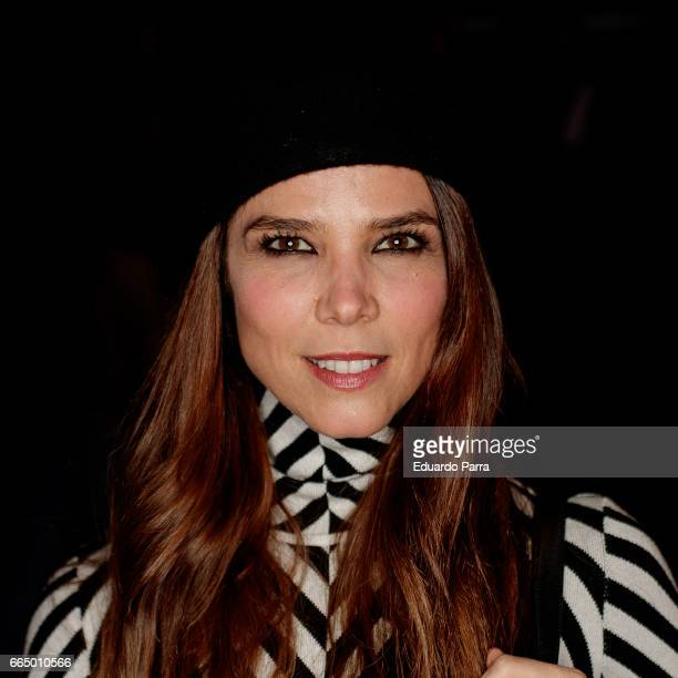 Actress Juana Acosta attends the 'El Pelotari y la Fallera' premiere at Callao cinema on April 5 2017 in Madrid Spain