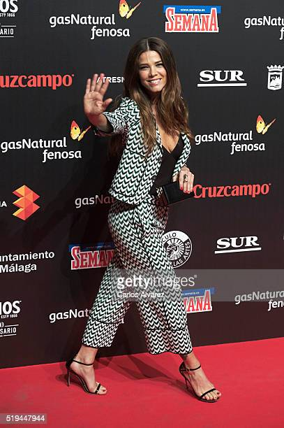 Actress Juana Acosta attends the Malaga Film Festival 2016 presentation cocktail at the Circulo Bellas Artes on April 6 2016 in Madrid Spain