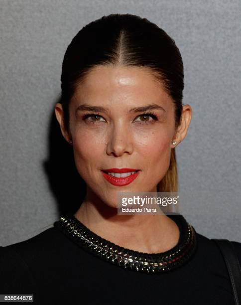 Actress Juana Acosta attends the 'Veronica' premiere at Kinepolis cinema on August 24 2017 in Madrid Spain