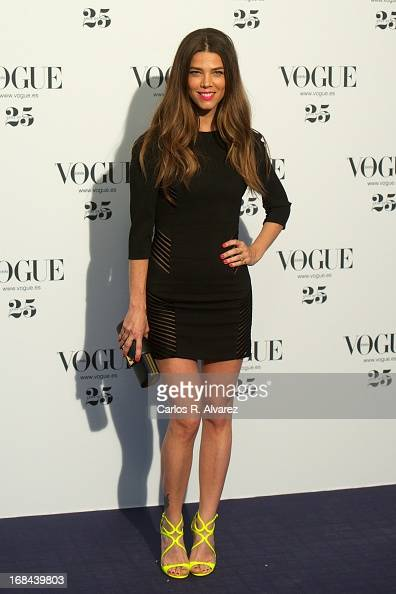 Actress Juana Acosta attends the Vogue Who's On Next photocall at the Italian embassy on May 9 2013 in Madrid Spain