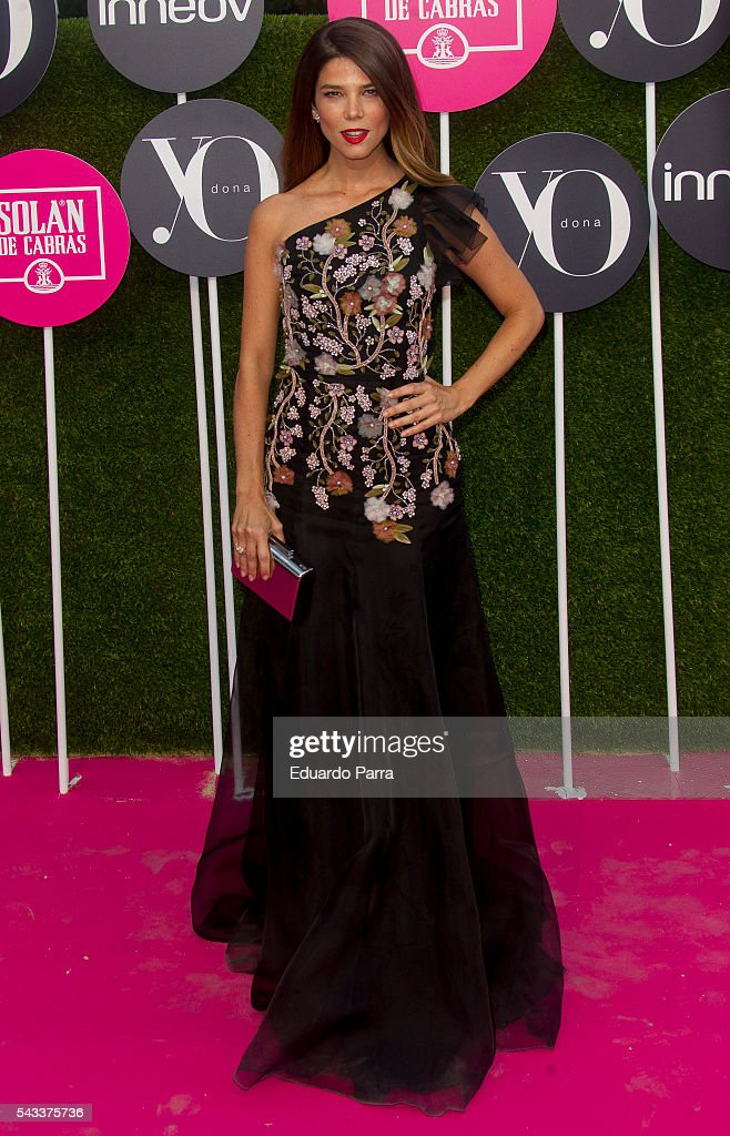 Actress <a gi-track='captionPersonalityLinkClicked' href=/galleries/search?phrase=Juana+Acosta&family=editorial&specificpeople=2132138 ng-click='$event.stopPropagation()'>Juana Acosta</a> attends the 'Yo Dona' international awards at La Quinta de la Munoza on June 27, 2016 in Madrid, Spain.
