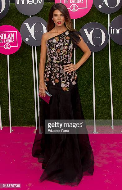 Actress Juana Acosta attends the 'Yo Dona' international awards at La Quinta de la Munoza on June 27 2016 in Madrid Spain