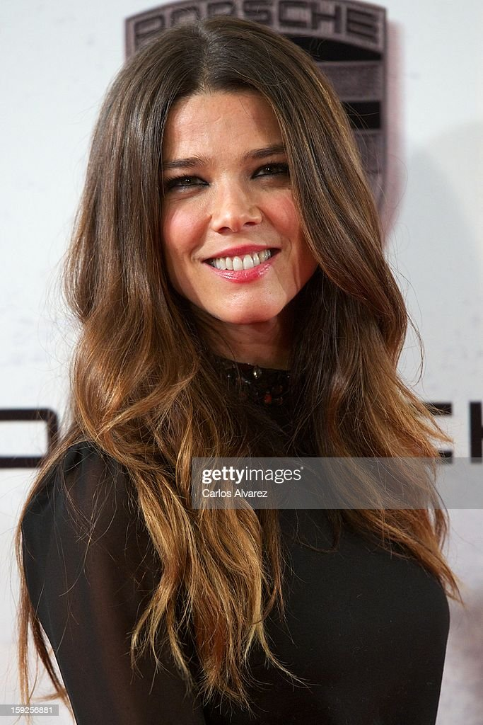Actress Juana Acosta attends 'Venuto Al Mondo' (Volver A Nacer) premiere at Capitol cinema on January 10, 2013 in Madrid, Spain.