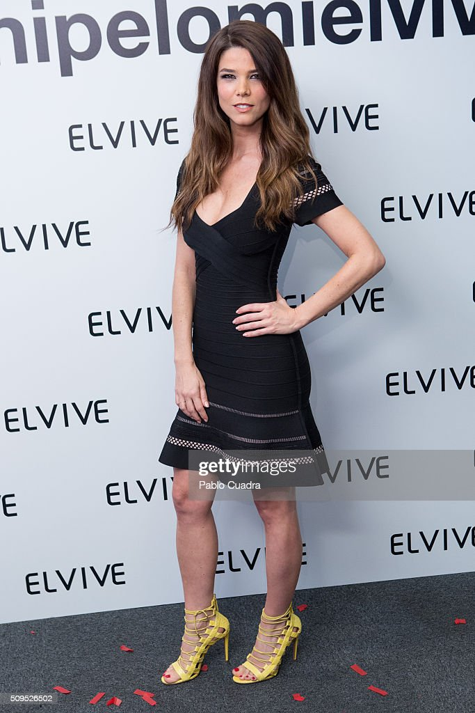 Actress <a gi-track='captionPersonalityLinkClicked' href=/galleries/search?phrase=Juana+Acosta&family=editorial&specificpeople=2132138 ng-click='$event.stopPropagation()'>Juana Acosta</a> is presented as new ambassador of 'Elvive' on February 11, 2016 in Madrid, Spain.