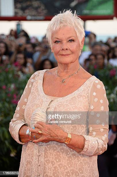 Actress Judi Dench attends 'Philomena' Premiere during the 70th Venice International Film Festival at Sala Grande on August 31 2013 in Venice Italy