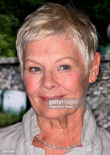 Actress Judi Dench attends the screening of 'Cranford' at the Directors Guild of America on April 23 2008 in Hollywood California