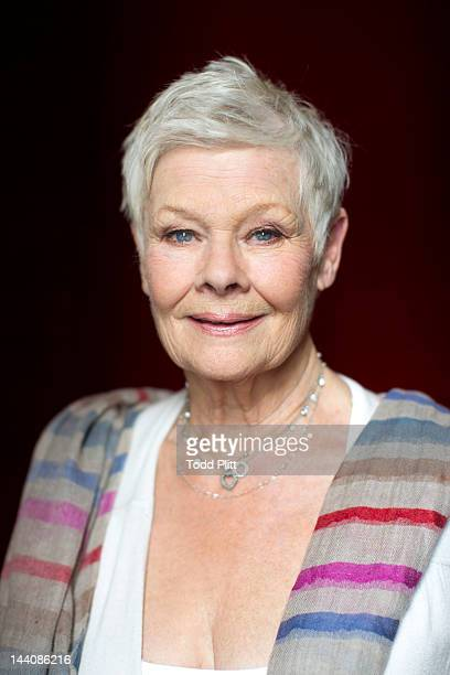 Actress Judi Dench is photographed for USA Today on April 21 2012 in New York City