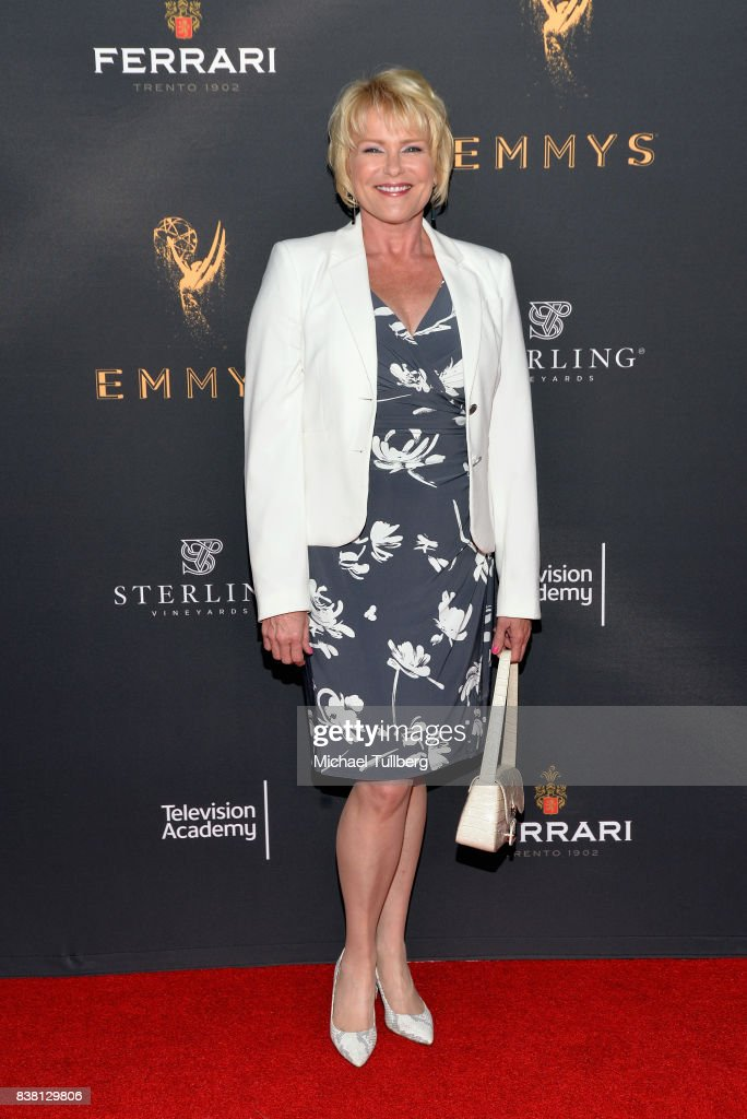 Actress Judi Evans attends the Television Academy's cocktail reception with stars of daytime television celebrating the 69th Emmy Awards at Saban Media Center on August 23, 2017 in North Hollywood, California.